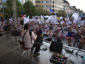 Na Václavském náměstí dnes proběhne demonstrace proti Zemanovi