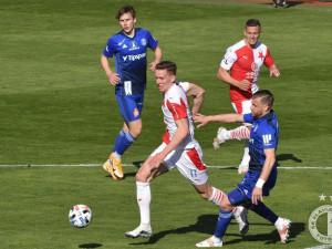 Slavia vyhrála v Olomouci 1:0 a protáhla sérii bez porážky