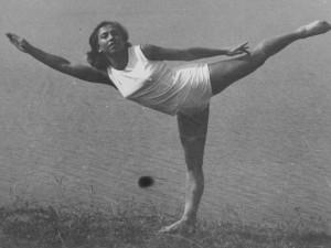 Marie Ďurovičová, nejstarší česká olympijská vítězka, dnes slaví 94. narozeniny