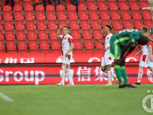 Slavia jen remizovala s Karvinou 1:1. Série bez porážky však stále trvá