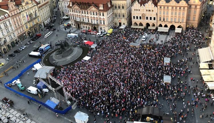 Hromadné akce sledování MS v hokeji letos Praha neuspořádá