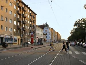 Na frekventované Sokolovské bude bezpečněji, vznikne tam nový přechod