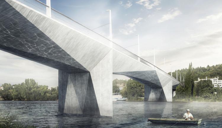 Nad Vltavou vyroste nový most. Nebude pro auta a spojí Smíchov a Podolí
