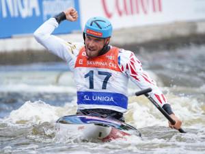 Další úspěch ve Světovém poháru ve vodním slalomu. Poprvé v kariéře jej vyhrál kanoista Rohan