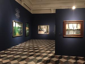 V Královském letohrádku začala výstava malíře Ivana Exnera. Potrvá do října