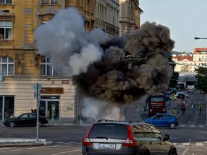 Natáčení zahraničních filmů v Praze potrvá ještě týden. Podívejte se na přehled, kde na filmaře narazíte