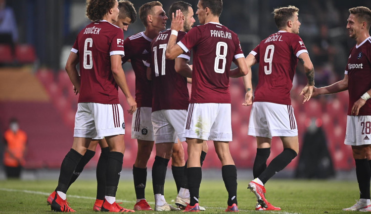 Sparta na úvod ligové sezony porazila Olomouc 3:2