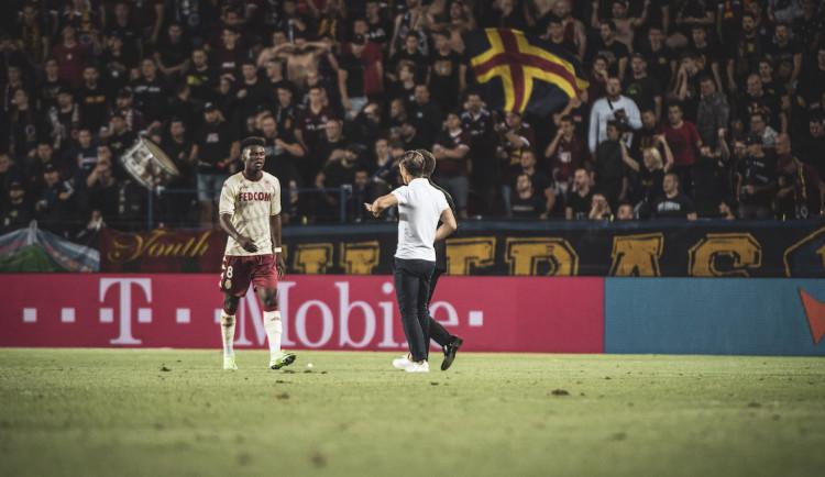 Vyhráli jsme zápas a porazili jsme rasismus, řekl trenér Monaka po vítězství, které zastínily rasistické urážky