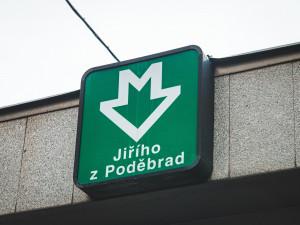 Kompletní rekonstrukce stanice metra Jiřího z Poděbrad začne 1. září