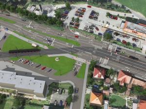 Tramvají až na Dědinu? Dopravní podnik získal stavební povolení na prodloužení trati