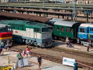 Pražský železniční den přilákal stovky zájemců