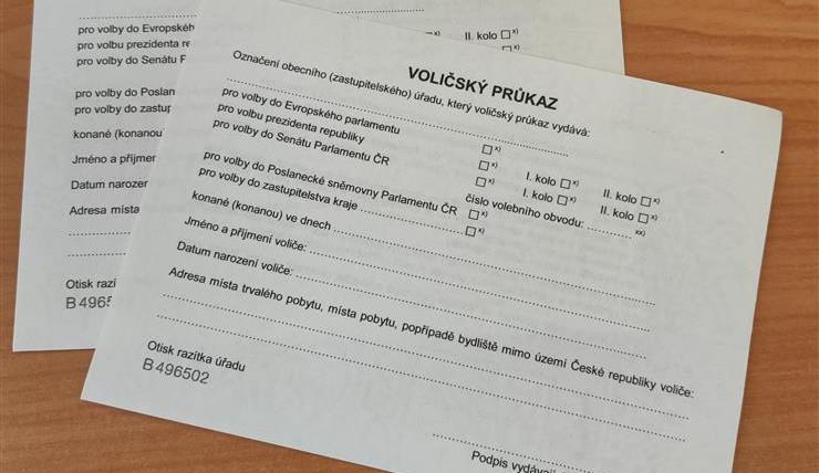 O voličský průkaz lidé mohou nově žádat on-line přes Portál Pražana