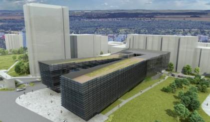 Bude mít Praha 11 prosklenou budovu radnice? Na stole je její nová podoba