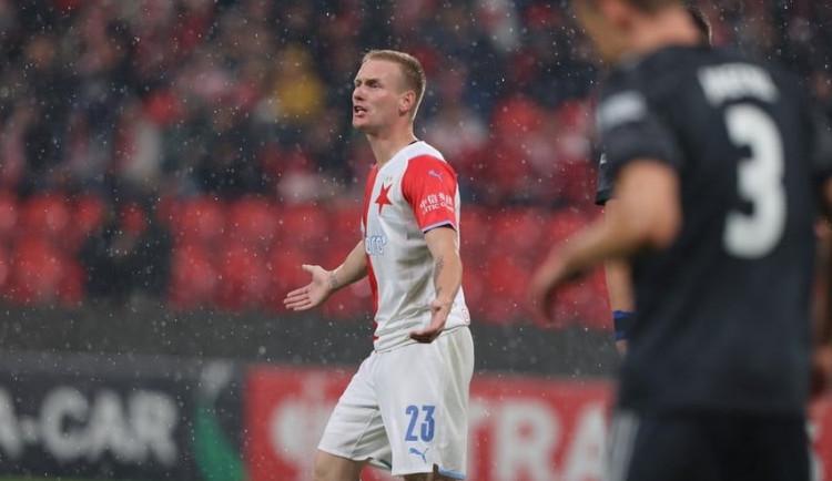 Fotbalisté Slavie v dlouhé přesilovce porazili Union Berlín 3:1