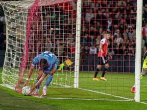 Slavia prohrála v Rotterdamu 1:2. Nepomohl ani závěrečný tlak