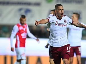 Sparta porazila v 11. kole první ligy Pardubice 4:2. Na vedoucí Plzeň tak ztrácí čtyři body