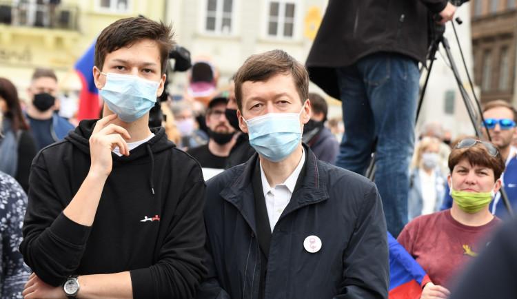 FOTOGALERIE: Demonstrace proti vládě