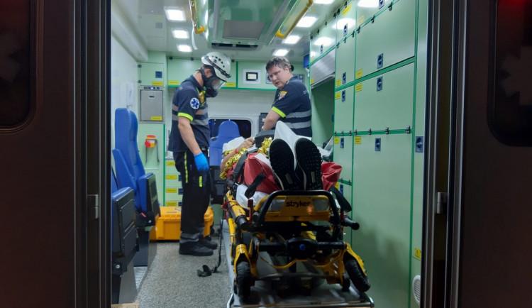 FOTOGALERIE: Večerní srážka dvou vlaků u Českého Brodu