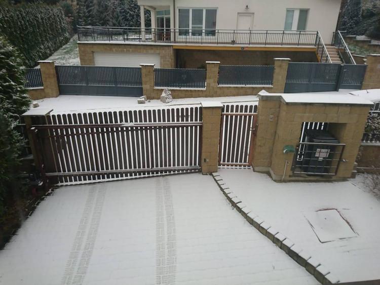 FOTOGALERIE: První sněhová nadílka letošní zimy v Praze očima čtenářů